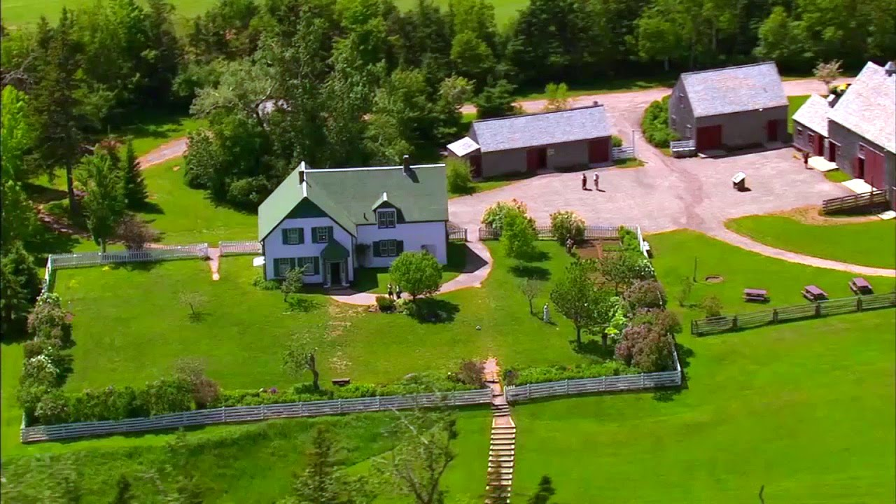Visite du parc national l le du prince douard et de l for Anne maison aux pignons verts