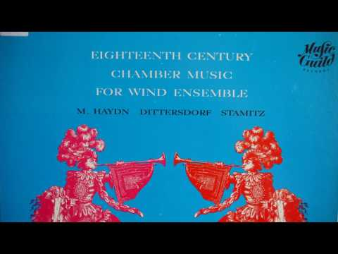18th Century Chamber Music for Wind Ensemble 1965  Music Guild  MS 110