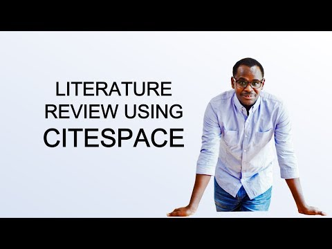 Tips for Researchers : Accelerate Your Literature Review Using CiteSpace