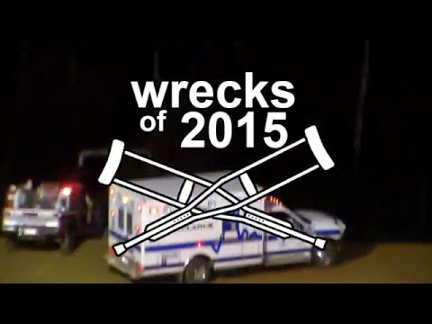 Dog Hollow Speedway - Wrecks of 2015 Compilation