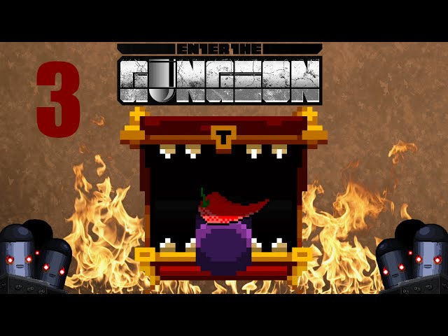 🎮 Enter the Gungeon | SPICY CHEST CHALLENGE | Part.3 | Gameplay FR