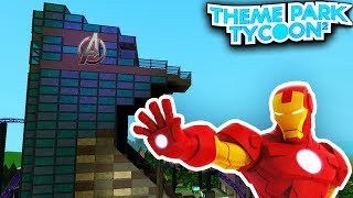 LOS VENGADORES - MovieLand en el parque temático Tycoon 2! (Roblox)