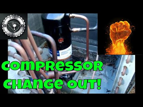 Hvac Compressor Change Out Youtube