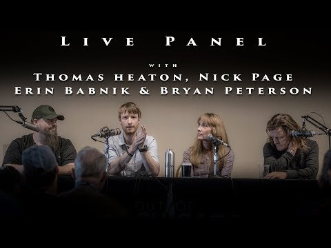 Live Panel with Thomas Heaton Erin Babnik and Bryan Peterson - Landscape Photography Podcast #15
