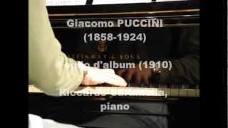 Puccini - piano & films: Foglio d