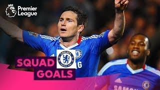 Crazy Chelsea Goals | Lampard, Hazard, Drogba | Squad Goals