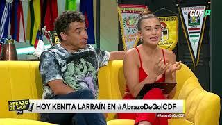 Kenita Larraín visitó Abrazo de Gol
