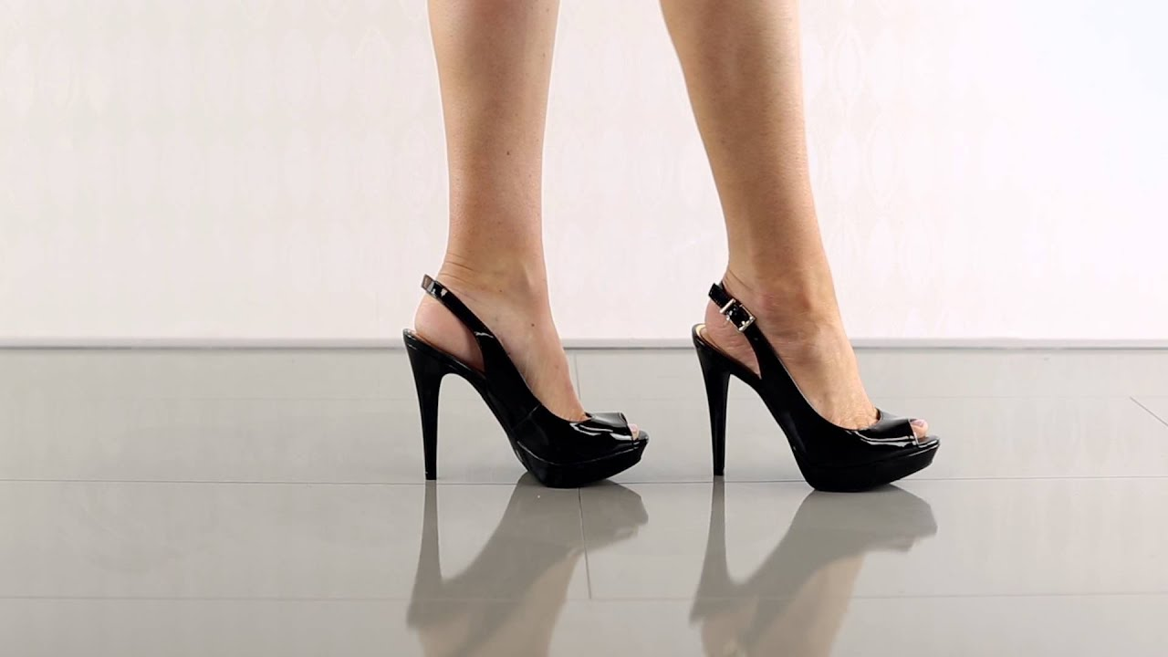 a70f9c9f51 Kiren in Black Patent Jessica Simpson - YouTube