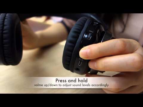 Lavi S Over-ear Wireless Headphones - User Guide