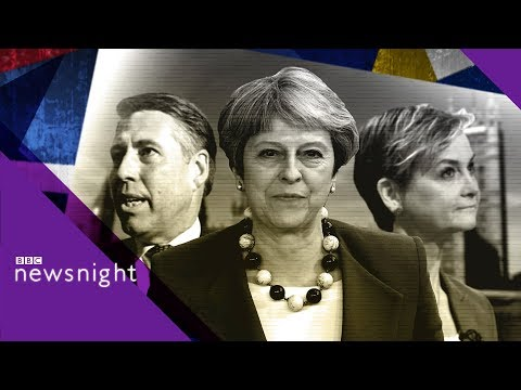 'There will be no re-negotiation (on Brexit deal)' - BBC Newsnight