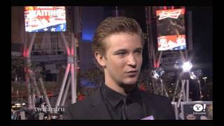 Breaking dawn part 2 premiere: 4 interviews and Casey LaBow on black carpet