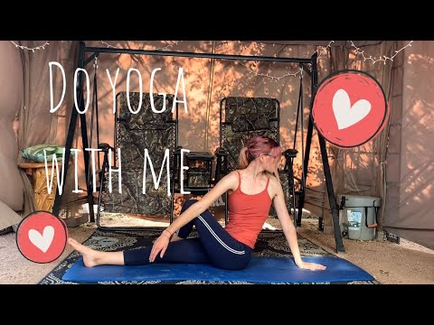 do yoga with me  easy yoga practice  kyra waits 2020