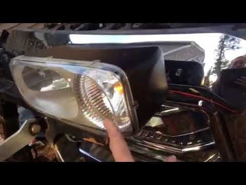2012 Ford F-250 Plow Headlights Have No Low Beam...FIXED!!!