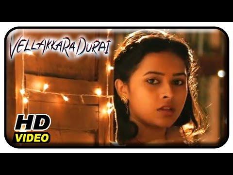 Vellaikaara Durai Movie Scenes | Lungi Dance song performance by Soori | Vikram Prabhu | Sri Divya