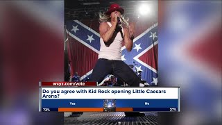 Controversy over Kid Rock opening Little Caesars Arena