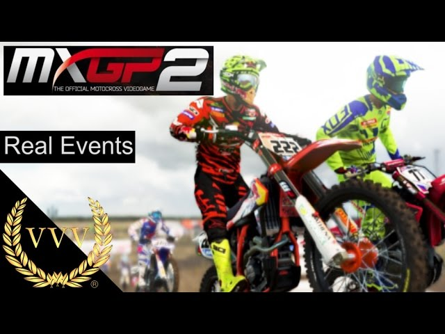 MXGP 2  Real Events Gameplay