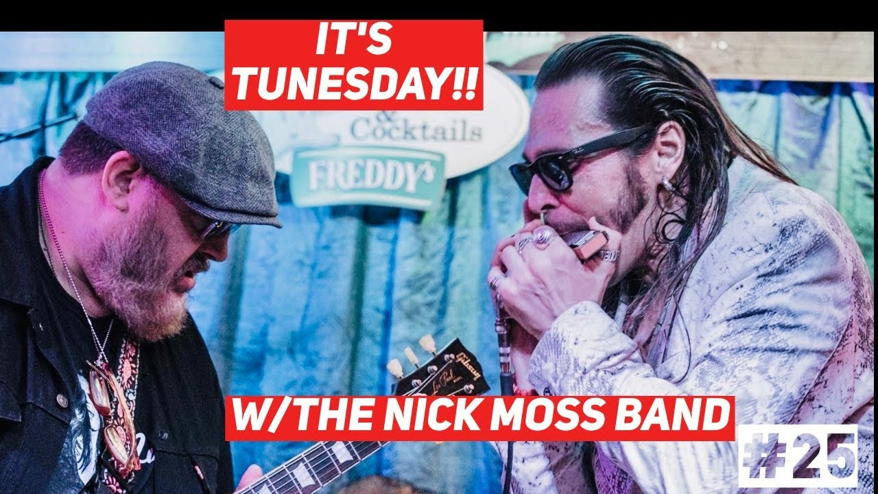 """Live Chicago Blues - Howlin Wolf """"Rocking Daddy"""" - Nick Moss Band w/Dennis Gruenling"""