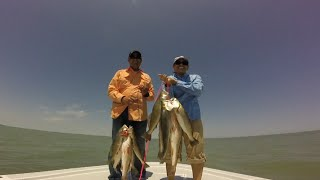 South Texas Speckled Sea Trout And Red Drum Fishing(Aquaholic Charters)