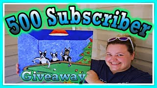 500 Subscriber Painting Giveaway