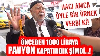 Hacı Amcadan Pavyon Fiyatıyla Ekonomi Değerlendirmesi! Ak Partili İlçede İnanılmaz Röportaj!