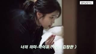 [리메이크]  너의의미-아이유(IU) feat.김창완