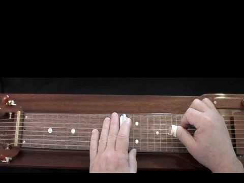 Crazy -- Lap Steel Guitar C6th Tuning High G on Top Lo to Hi - A-C-E-G-A-C-E-G
