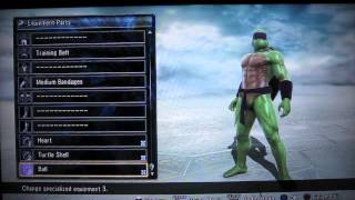 Soul Calibur 5 - TMNT - Teenage Mutant Ninja Turtles- Character Creation Tutorial