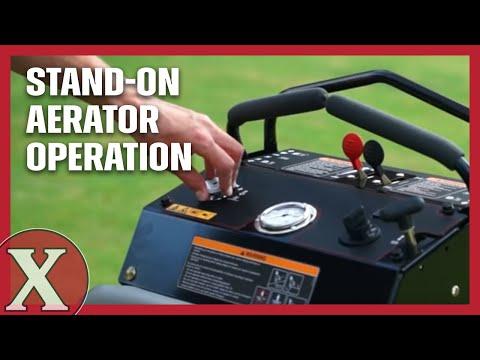 Lawn Solutions Riding Aerator Doovi