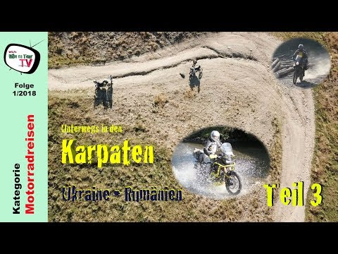 Karpaten mit dem Motorrad, Teil 3 | Rumänien