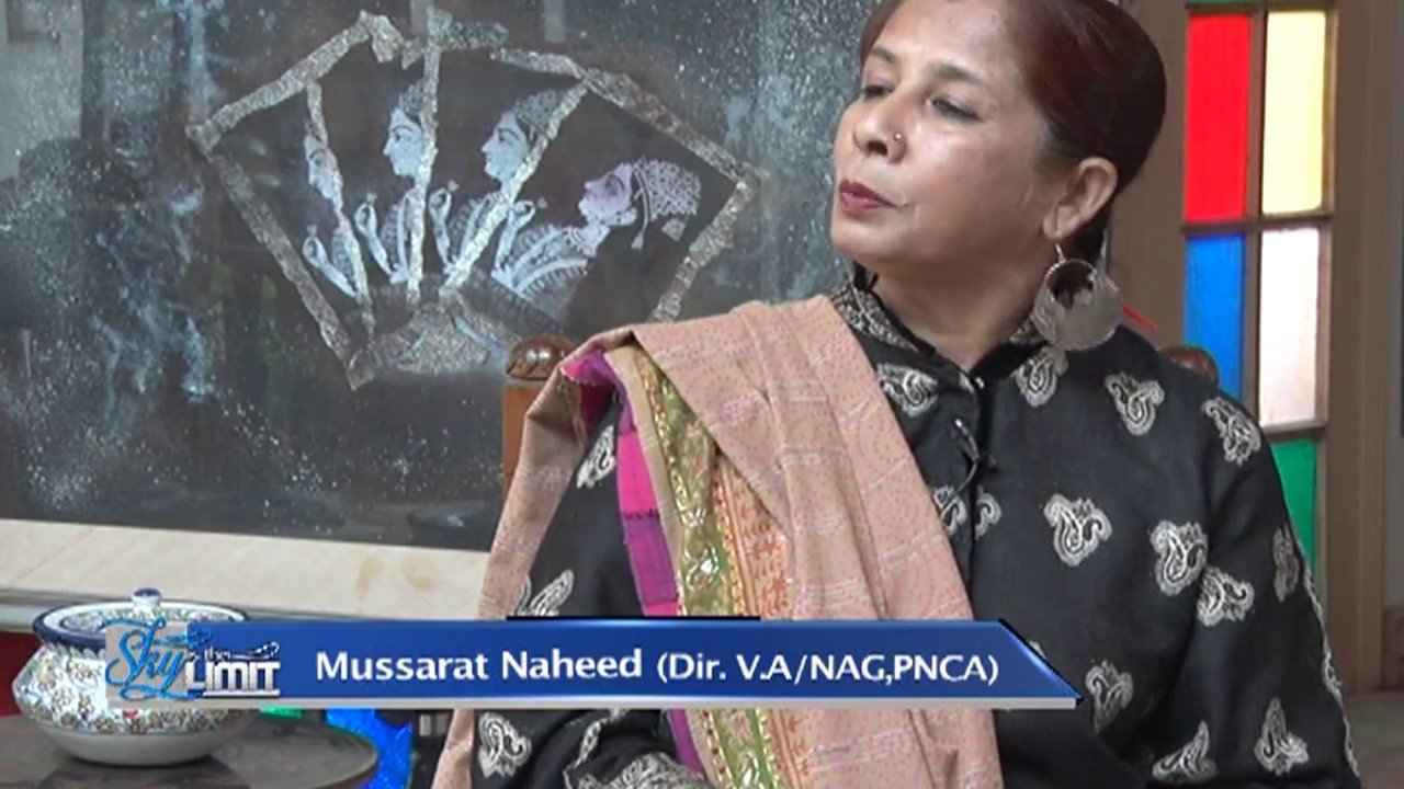 Interview Of Renowned Artist And Director Visual Arts PNCA Mme Mussarat Nahid Imam