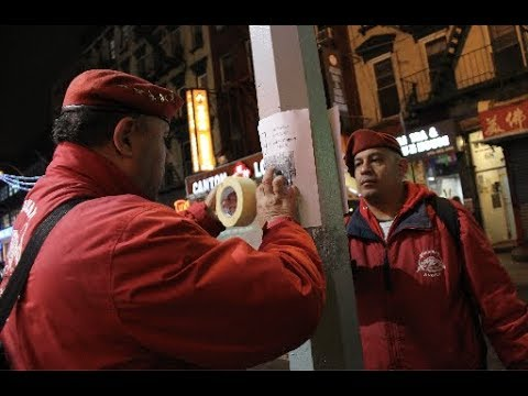 As Coronavirus Fears Continue, Guardian Angels Take To The Streets Of Chinatown