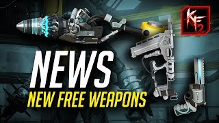 Killing Floor 2 News - 3 FREE NEW WEAPONS and a New Objective Mode (KF2 Gameplay)