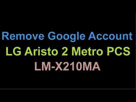 Remove Bypass FRP LG Aristo 2 LM-X210MA MetroPCS