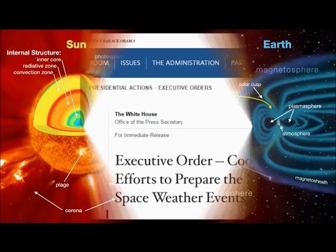 Obama Orders Govt To Prepare for 'Space Weather' Events