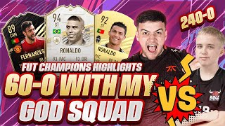 CAN I BEAT THIS WONDERKID? 30-0 ON FUT CHAMPIONS w/ MY BEST TEAM! FIFA 21 WEEKEND LEAGUE!