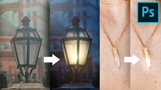 One Trick to Add Light or Shine to Anything in Photoshop