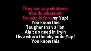Rihanna & Young Jeezy - Hard Karaoke