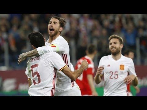 Rusia 3-3 España | All Goals | COPE | Amistoso 2018