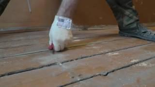 видео Ремонт полов в деревянном доме