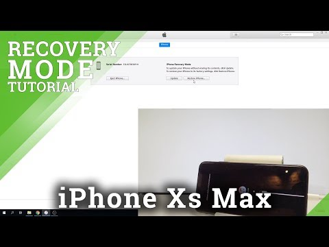 Recovery Mode APPLE iPhone Xs Max - HardReset info