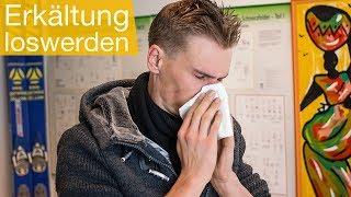 Erkältung schnell loswerden 🤧 Tipps | Vorbeugen | Untersuchung
