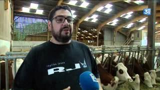 Rencontre avec Xavier Laurent, un éleveur laitier au bord du gouffre