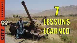 7 prepper lessons I learned in Afghanistan - pt2
