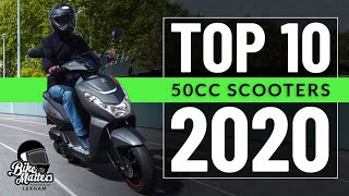 Top 10 50cc Scooters 2020! Best options for a CBT!