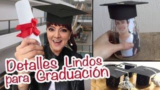 Chuladas Creativas :: Detalles para una Fiesta de Graduacion :: Manualidades Sammily