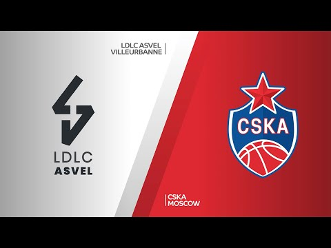 LDLC ASVEL Villeurbanne - CSKA Moscow Highlights | Turkish Airlines EuroLeague, RS Round 16