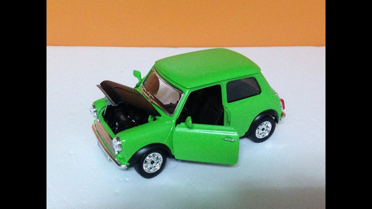 1 24 Mr Bean S Car Diecast Review Custom Painted Youtube