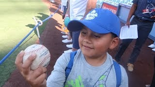 LUMPY MEETS CODY BELLINGER AND JUSTIN TURNER FROM THE DODGERS | BENNY NO | VLOG #116