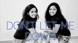 THE CHAINSMOKERS : 'Don't Let Me Down' - Dance by Anushka Gosavi & Titas Chatterjee..