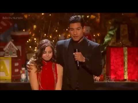 Carly Rose Sonenclar - All I Want For Christmas is You - X Factor USA Final Episode